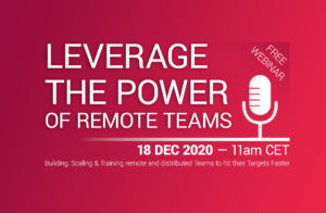 [Leverage the Power of Teams]