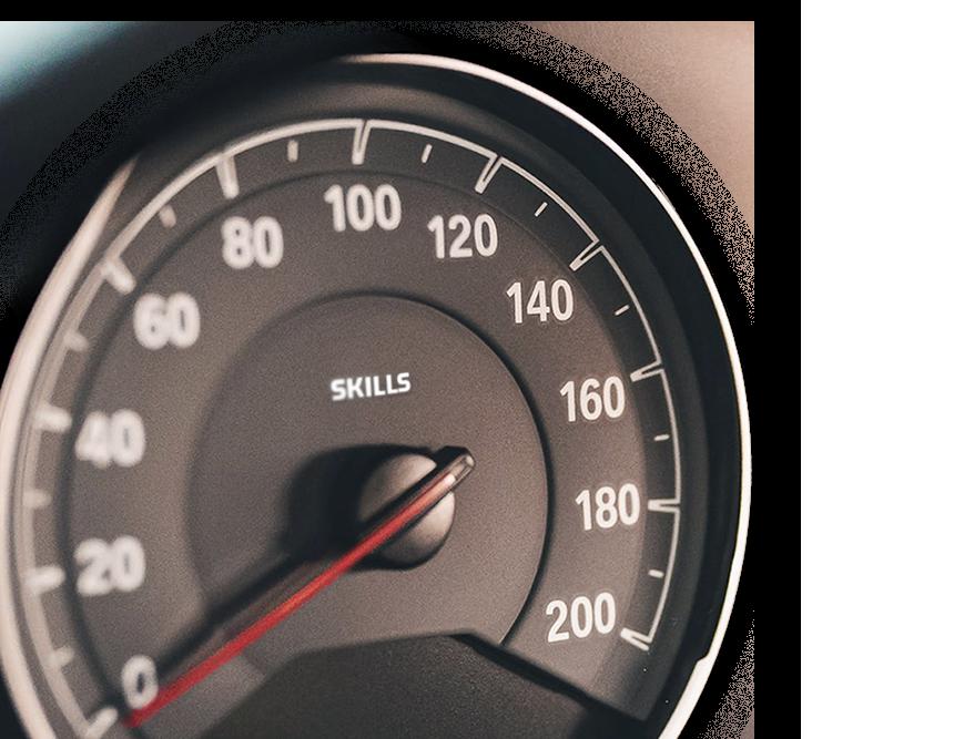Skills Gap Speedometer